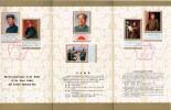 Souvenir 1977  Le Premier Anniversaire De La Mort Du Grand Chef Et Enseignant Président Mao T.n°2101 à 2106 - 1949 - ... République Populaire