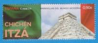 """MEXICO  """"CHICHÉN ITZÁ""""  (piramide De Chichén Itzá) Stamp New/Nuevo    S-1454 - Otros"""