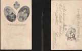 1940) VITTORIO EMENUELE III E REGINA ELENA SALITI AL TRONO D'ITALIA 29/7/1900 E VIAGGIATA 9/8/1900 DOPO L'Incoronazione - Massa
