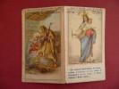 Calendarietto Da Barbiere 1952 Orfanelli Istituto M. Immacolata Buon Natale E Buon Anno - Calendriers