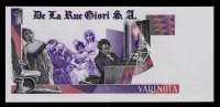 "Test Note DE LA RUE ""Beethoven - Type K"" Testnote, Mit Intaglio,beids. Druck, RRR, UNC, Echantillon, SPECIMEN - Banknoten"