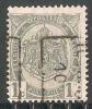 Turnhout 1910 Nr. 1490Bzz - Roller Precancels 1910-19