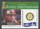 Togo BF N° 350 XX  Centenaire Du Rotary Club International,  Le Bloc Sans Charnière, - Togo (1960-...)