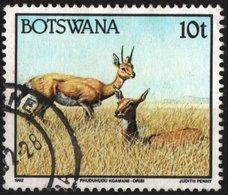 BOTSWANA, FAUNA, ANTILOPE, 1992, FRANCOBOLLO USATO, Scott 522 - Botswana (1966-...)