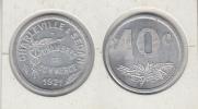 FRANCE Chambre De Commerce Charleville & Sedan 10c 1921 - Monetari / Di Necessità