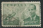Spagna 1939/40 P.A. Usato - Mi.826 - Poste Aérienne