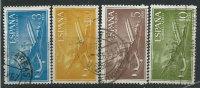 Spagna 1955/6 P.A. Usato - 4v; Mi.1078piega - Usati