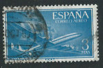 Spagna 1956 P.A. Usato - Mi.1076 - Poste Aérienne