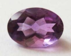 Améthyste 0,70 Carats - Juwelen & Horloges