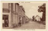 18 - EPINEUIL Le FLEURIEL - Route De Meaulne Animée Hotel Velos Bon Etat - Autres Communes