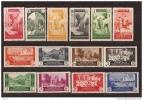MA133STV-LFT026TAN.Maroc Marocco  MARRUECOS ESPAÑOL VISTAS Y PAISAJES 1933/5. (Ed 133/47**).sin Charnela SUPER LUJO - 1931-50 Nuevos & Fijasellos