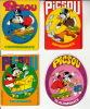 Walt Disney - Picsou Magazine ° 8 Autocollant / 8 Adesivi / 8 Aufkleber / 8 Stickers - Autocollants