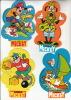 Walt Disney - Le Journal De Mickey ° 4 Autocollant / 4 Adesivi / 4 Aufkleber / 4 Stickers - Autocollants