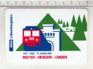 BLS Lötschbergbahn - Moutier-Grenchen-Lengnau 75 Jahre/Ans °  Autocollant /  Adesivi /  Aufkleber /  Stickers - Autocollants