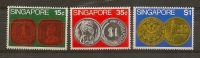 SINGAPORE - Coins 1972 - Monnaies
