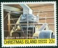 ISOLE CHRISTMAS, INDUSTRIA DEL FOSFATO, 1981, FRANCOBOLLO NUOVO (MNH**) - Christmas Island