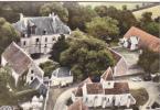 24940 La Vallée Noire Nophant Chateau G Sans Eglise Vue Aerienne Roussel -ed Roussel Colorisée