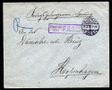 A3482) POW DR Kgf-Brief Von Hagenau 24.3.1915 Nach Kopenhagen Mit Zensurstempel - Deutschland