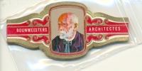 14-929. Vitolas Karel I. Arquitectos. S.M. - Cigar Bands
