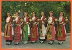 GREECE - FOLKLORE - LOCAL COSTUMES OF THE THESSALIAN PLAIN / KARAGUNA / - Costumes