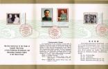 Souvenir 1976/77 Le Premier Anniversaire De La Mort Du Camarade Chou En-lai T.n° 2089 à 2092 - Storia Postale