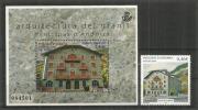 Architecture De Granit (Hotel Rosaleda.Encamp) Bien D'intérêt Culturel. Un Bloc-feuillet + Un T-p Neufs ** Haute Faciale - Andorra Francese
