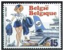 Belgique**NATACHA HOTESSE De L'AIR/AIRHOSTESS-BD-BANDE DESSINEE-993-NSC-CARTOONS-MNH-COMICS-STRIPS - Belgium