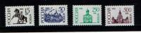 RUSSIE RUSSIA 1992, SERIE COURANTE, Yvert 5236b..., Michel 278/8/1, 4 Valeurs, Neufs / Mint.  R1985 - Unused Stamps