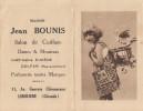 CALENDRIER PUBLICITAIRE / LIBOURNE  / SALON DE COIFFURE