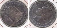 ESPAÑA  FILIPINAS ALFONSO XIII PESO MANILA 1897 PLATA SILVER U - Filipinas