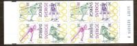 Suede Zweden 1992 Carnet C1682-85 ***  MNH Cote 10 Euro Sport - Carnets