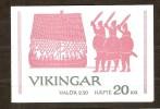 Suede Zweden 1990 Carnet C1575-82 ***  MNH Cote 10 Euro Vikings - Carnets
