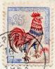 YT 1331 Coq Decaris - Tirage Spécial Or Aux UV - Sur CP Vu Des Vignobles Moet&Chandon - Maurines De Paris - 1963 - Abarten: 1960-69 Briefe & Dokumente
