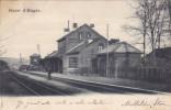 Gare D'Engis (animée, Précurseur, 1902, Thiry) - Engis
