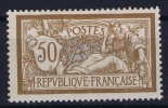 FRANCE: Yvert Nr 120 MH/*, Avec  Charnière , Mit Falz,