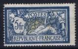 FRANCE: Yvert Nr 123 A MH/*, Avec  Charnière , Mit Falz, Signed/ Signé Bühler