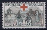 FRANCE: Yvert Nr 156 MH/*, Avec  Charnière , Mit Falz