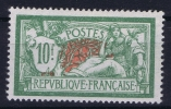 FRANCE: Yvert Nr 207  MH/*, Avec  Charnière , Mit Falz - Francia
