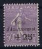 FRANCE: Yvert Nr 276 MH/*, Avec  Charnière , Mit Falz