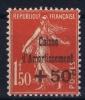 FRANCE: Yvert Nr 277 MH/*, Avec  Charnière , Mit Falz Signed/ Signé