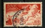 France 1946 200f Chariot Of The Sun Issue #c21 - Airmail