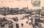"""02441 """"ANVERS - LE GRAND BASSIN """" ANIMATA, PORTO - NAVI . CART.   SPED. 1919 - Belgio"""