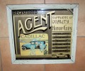 Grand Miroir Publicitaire (advertising Mirror), Cadillac, Rolls Royce, Bugatti, - Advertising (Porcelain) Signs