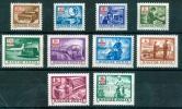 HUNGARY-1973/85.Picture Postage Due Cpl.Set Mi: 242-251.MNH!!  6.40EUR - Impuestos