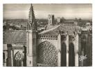 Cp, 11, La Cité De Carcassonne, Vue Sur L'Eglise St-Nazaire Et Le Château - Carcassonne