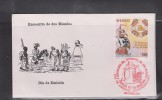 E) 1987, MEXICO, FDC V CENTENARY OF THE MEETING OF TWO WORLDS - Mexico