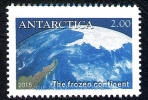 Antarctica Post With Ghost Flaw. - New Zealand