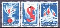 BELGIUM   611-13     * - Belgium