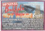 ORIGINAL BUFFALO HOT WINGS - Publicidad