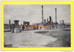 Algérie (Batna) TIMGAD - Ruines Romaines Le Forum Côté OUEST  TOP - Batna